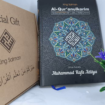 Distribusi Al-Qur'an King Salman - 1